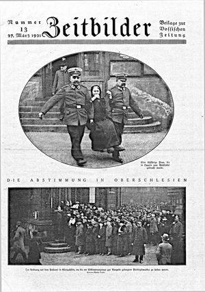 Vossische Zeitung vom 27.03.1921