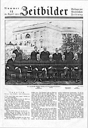 Vossische Zeitung vom 10.04.1921