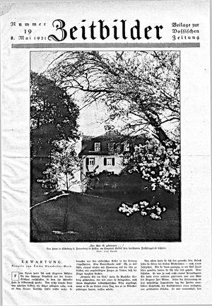 Vossische Zeitung vom 08.05.1921