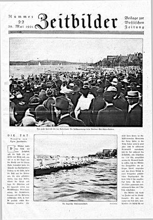 Vossische Zeitung vom 29.05.1921
