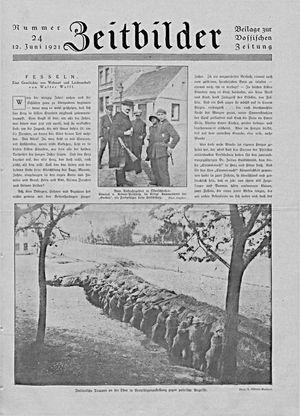 Vossische Zeitung vom 12.06.1921