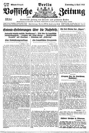 Vossische Zeitung on Apr 5, 1923