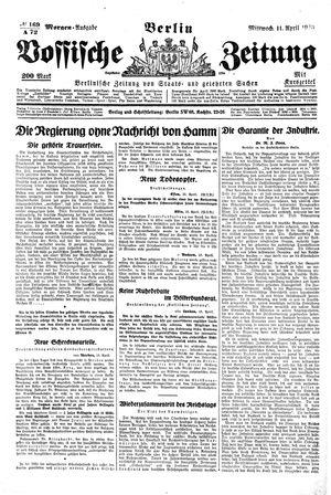 Vossische Zeitung vom 11.04.1923