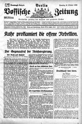 Vossische Zeitung (21.10.1923)