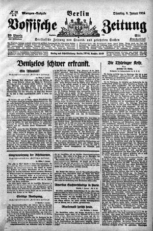 Vossische Zeitung on Jan 8, 1924
