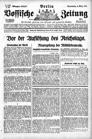 Vossische Zeitung vom 06.03.1924