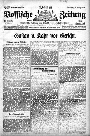 Vossische Zeitung vom 11.03.1924