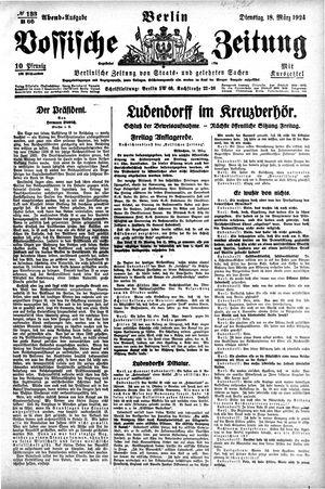 Vossische Zeitung vom 18.03.1924