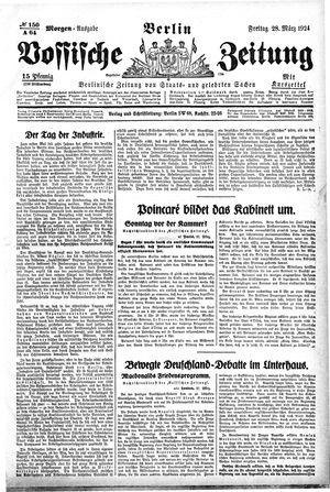 Vossische Zeitung vom 28.03.1924