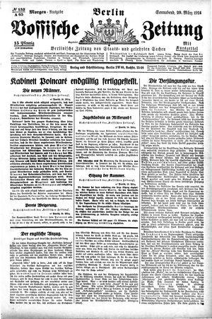 Vossische Zeitung vom 29.03.1924