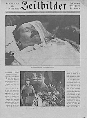Vossische Zeitung vom 08.03.1925