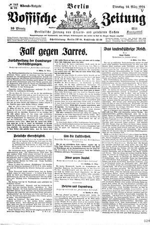 Vossische Zeitung vom 24.03.1925