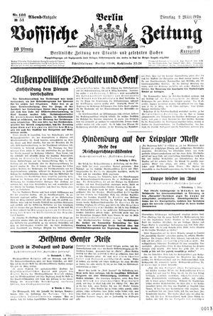 Vossische Zeitung vom 02.03.1926