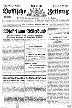 Vossische Zeitung vom 06.03.1926