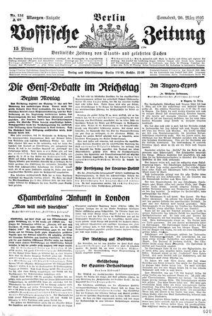 Vossische Zeitung vom 20.03.1926