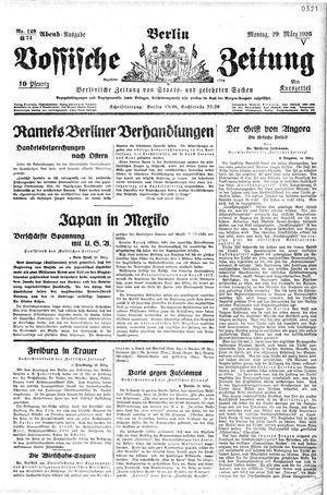 Vossische Zeitung vom 29.03.1926