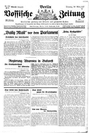 Vossische Zeitung on Mar 30, 1926