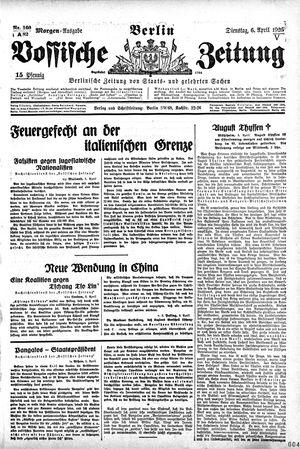Vossische Zeitung vom 06.04.1926