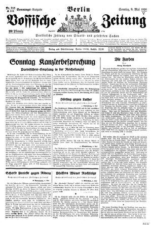 Vossische Zeitung vom 09.05.1926