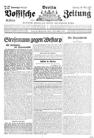 Vossische Zeitung vom 30.05.1926