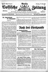 Vossische Zeitung