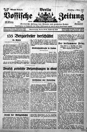 Vossische Zeitung vom 01.03.1927