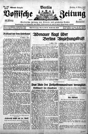 Vossische Zeitung vom 04.03.1927