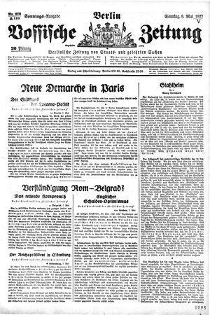 Vossische Zeitung vom 08.05.1927