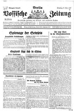 Vossische Zeitung vom 10.05.1927
