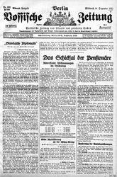 Vossische Zeitung (14.12.1927)