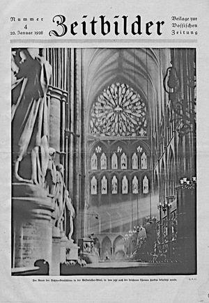 Vossische Zeitung vom 22.01.1928