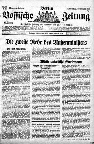 Vossische Zeitung vom 02.02.1928
