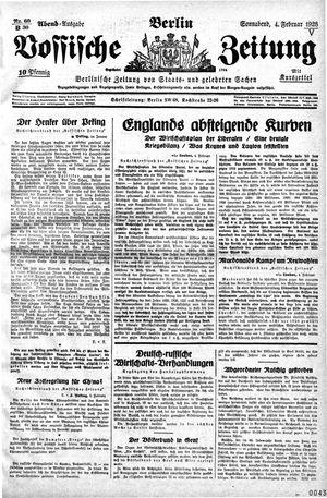 Vossische Zeitung vom 04.02.1928