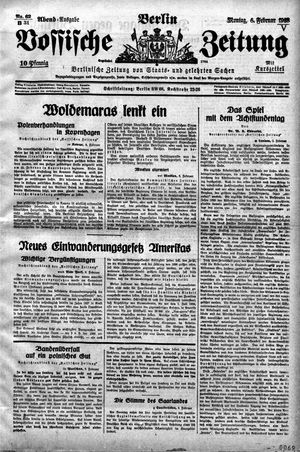 Vossische Zeitung vom 06.02.1928
