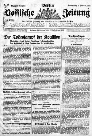 Vossische Zeitung vom 09.02.1928