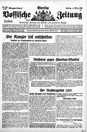 Vossische Zeitung vom 02.03.1928