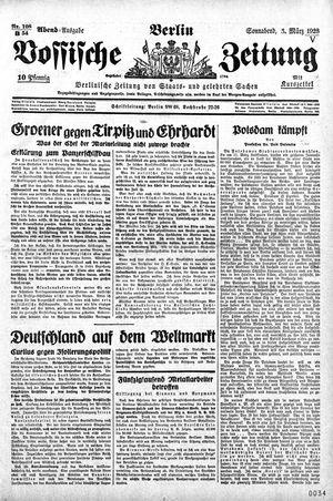 Vossische Zeitung vom 03.03.1928