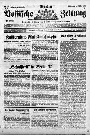Vossische Zeitung vom 14.03.1928