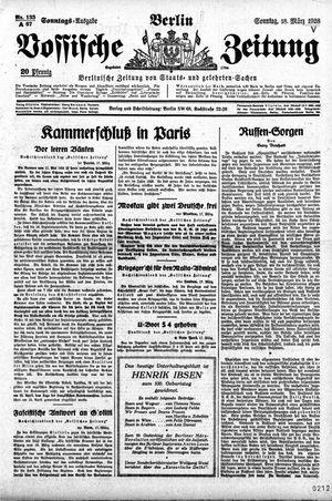 Vossische Zeitung vom 18.03.1928