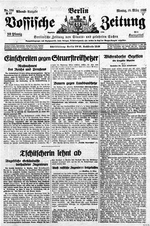 Vossische Zeitung vom 19.03.1928