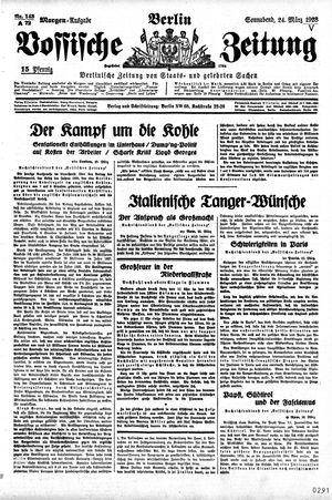 Vossische Zeitung vom 24.03.1928
