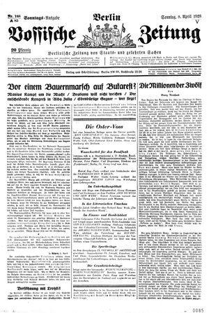 Vossische Zeitung on Apr 8, 1928