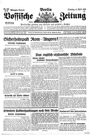Vossische Zeitung on Apr 10, 1928