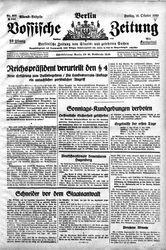 Vossische Zeitung (18.10.1929)