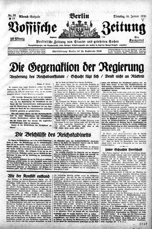 Vossische Zeitung vom 14.01.1930