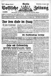 Vossische Zeitung (16.01.1930)