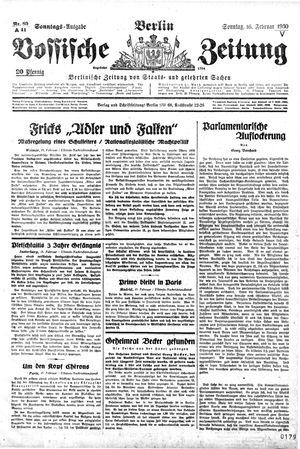 Vossische Zeitung on Feb 16, 1930