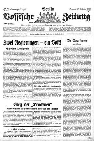 Vossische Zeitung vom 23.02.1930
