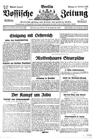 Vossische Zeitung vom 24.02.1930