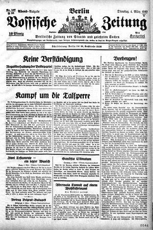 Vossische Zeitung vom 04.03.1930